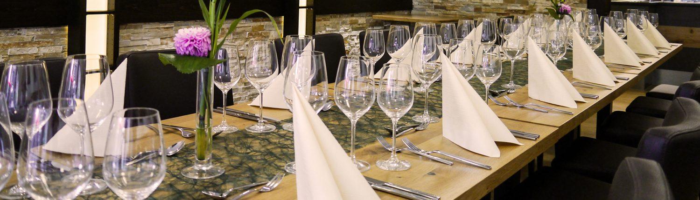Veranstaltung Weinstube Wein Weingläser